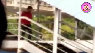 Vijay Deverakonda narrowly escapes train accident || Pscreations ||
