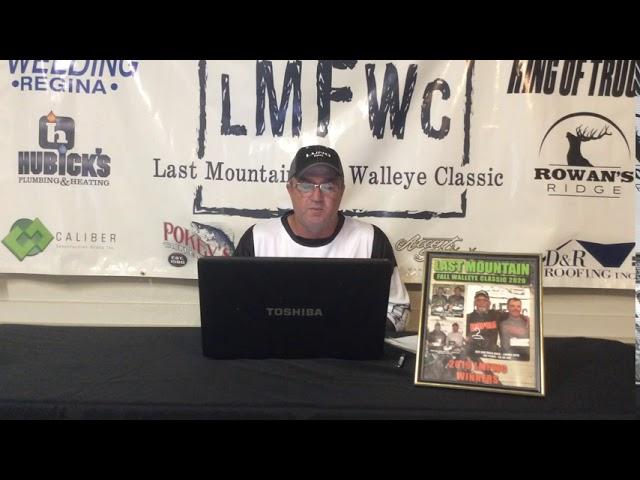 2020 Last Mountain Fall Walleye Classic