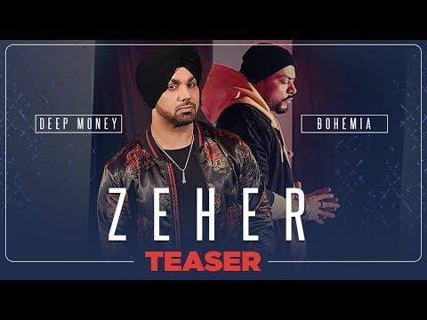 Zeher Video Teaser | Deep Money Feat. Bohemia