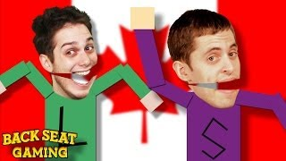 CANADIANS FART ON US IN SOUTH PARK (Backseat Gaming)