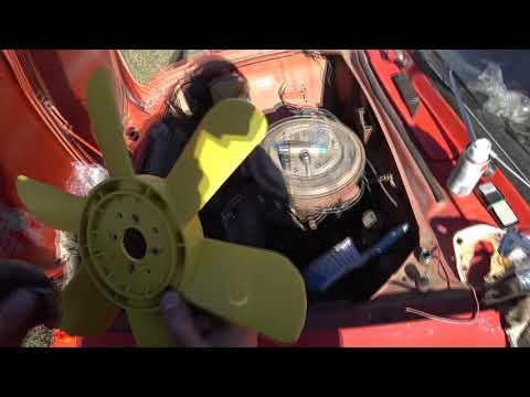 Москвич 426,работаю с крыльчаткой от помпы 408 мотор. 4к60фпс,в.б.