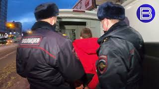 «Вести» публикуют видео побега нарушителя масочного режима в Новосибирске