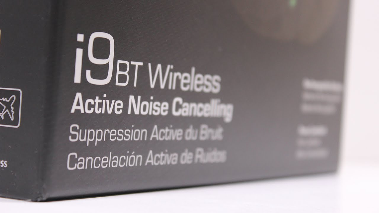 ac2578f0d28 NoiseHush i9 Bluetooth Active Noise-Cancelling Headphones [Unboxing ...