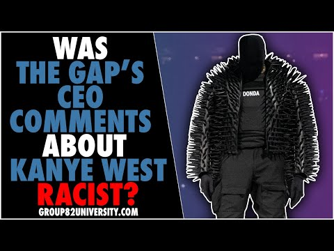 Was The Gap's CEO Comments About Kanye West Racist?