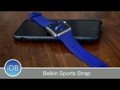Belkin Managed A More Comfortable, Cheaper, & Stylish Looking Apple Watch Sports Band