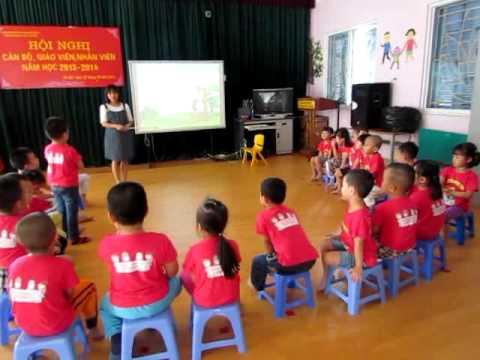 Tiết dạy Kể truyện văn học của cô Lê Phương Anh