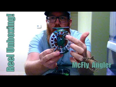 Bet you haven't seen this reel before?  New Fly Reel Unboxing! - McFly Angler