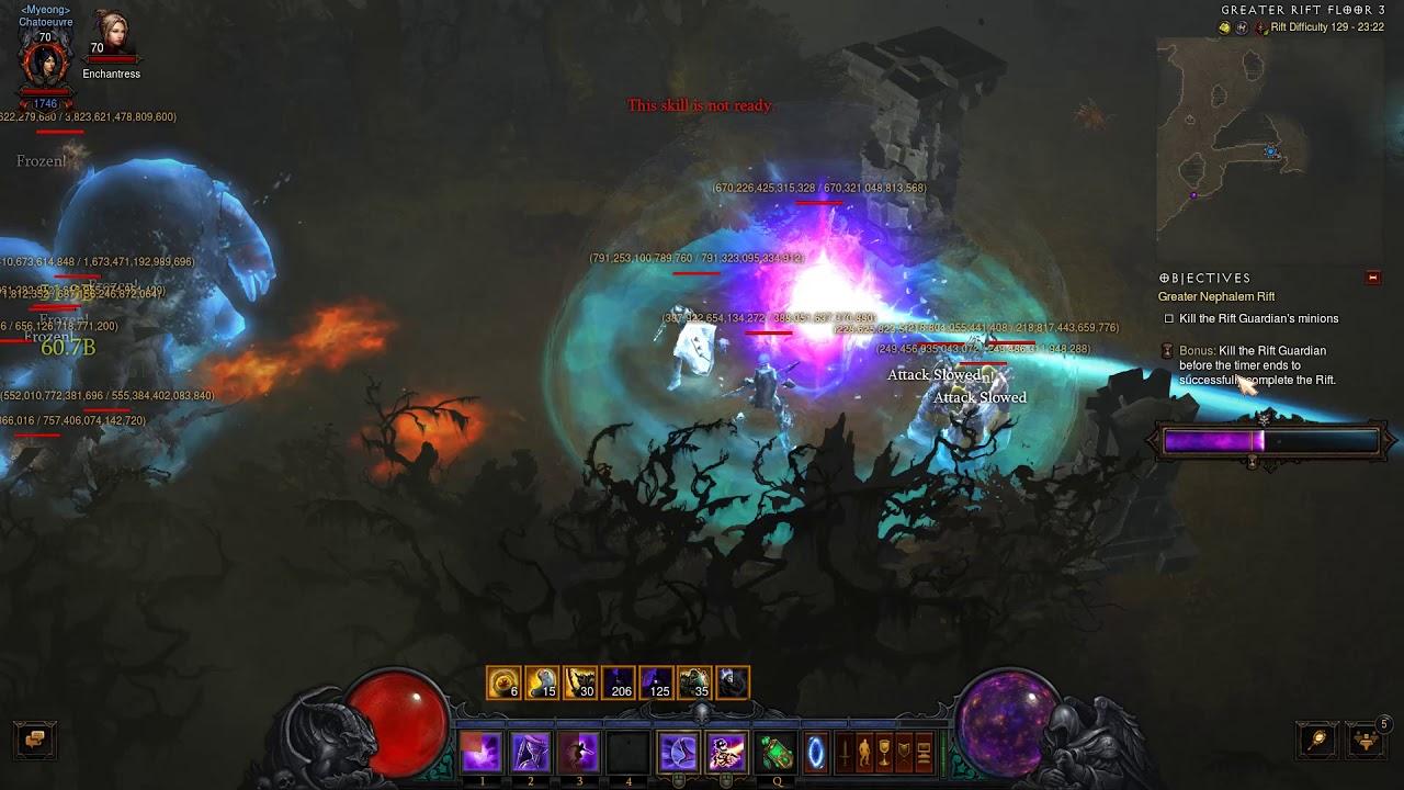 [Diablo 3 Highlights #21] 3:45 Boss Spawn on GR139 ! Pentakill Meteor