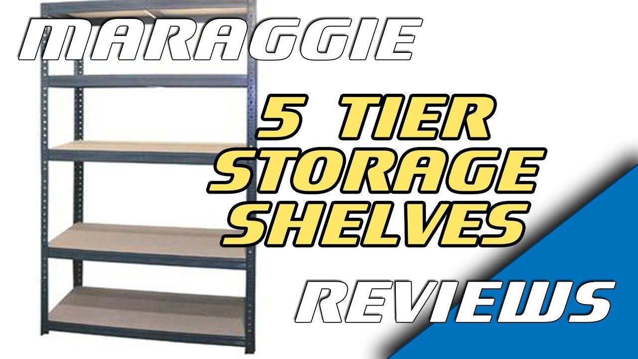 18m Heavy Duty Metal 5 Tier Storage Shelves Assembly Review