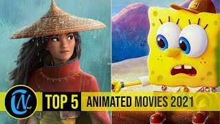 Top 5 Best Animated Movies 2021 So Far