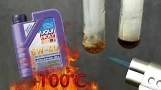Liqui Moly Leichtlauf High Tech 5W40 Jak czysty jest olej silnikowy? Test powyżej 100°C