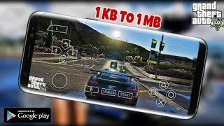 GTA V PPSSPP EMULATOR ON ANDROID ||  GTA 5 PPSSPP 1KB TO 1MB FOR ANDROID || Gamer King reality video