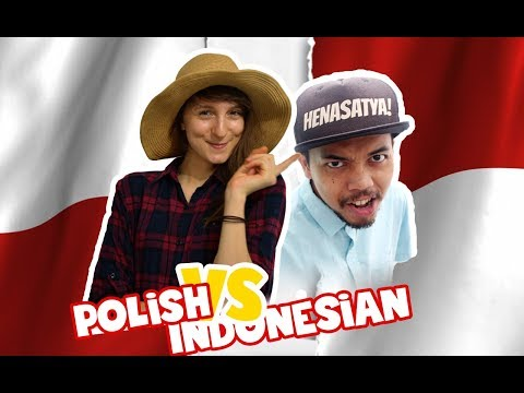 Language Challenge INDONESIAN vs POLISH - Globe in the Hat #3