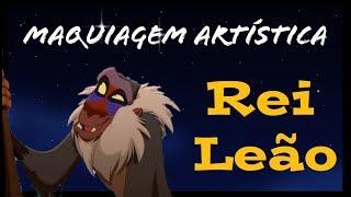 Rei Leão - Rafiki - Maquiagem Artística