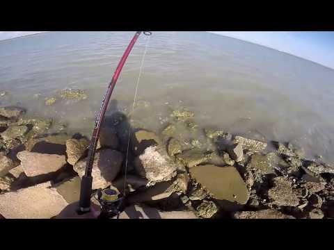 Flounder fishing Galveston, TX (720p HD)