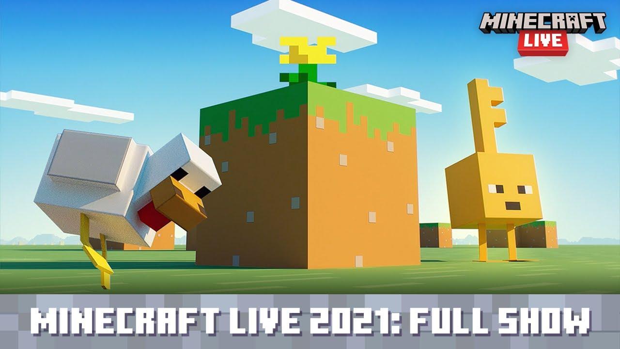 Download Minecraft Live 2021