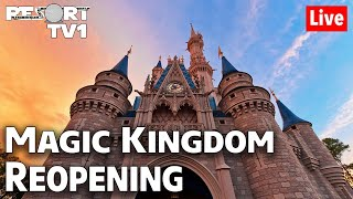 🔴Live: Magic Kingdom Reopening Annual Passholder Preview | Walt Disney World Live Stream