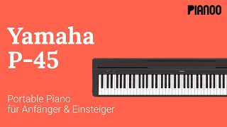 Digitalpiano für Anfänger - Test: Yamaha P-45
