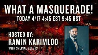 What a Masquerade: Ramin Karimloo's Phantom Afterparty
