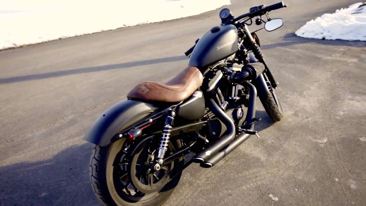 Motorcycle Tool Bag >> Harley Iron February 2010 Mods; seat, drag bars, pipes ...