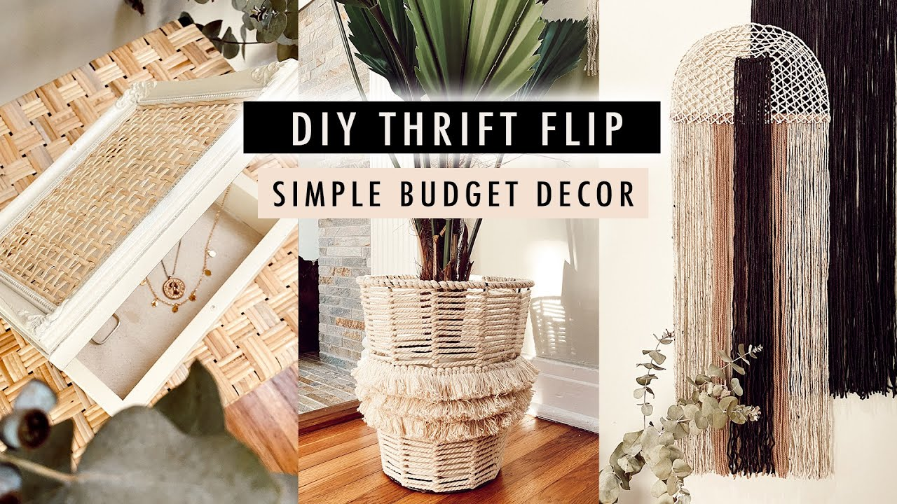 DIY THRIFT FLIP DECOR (simple DIYS with common thrift store items) | XO, MaCenna