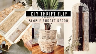 DIY THRIFT FLIP DECOR (simple DIYS with common thrift store items) | XO, MaCenna