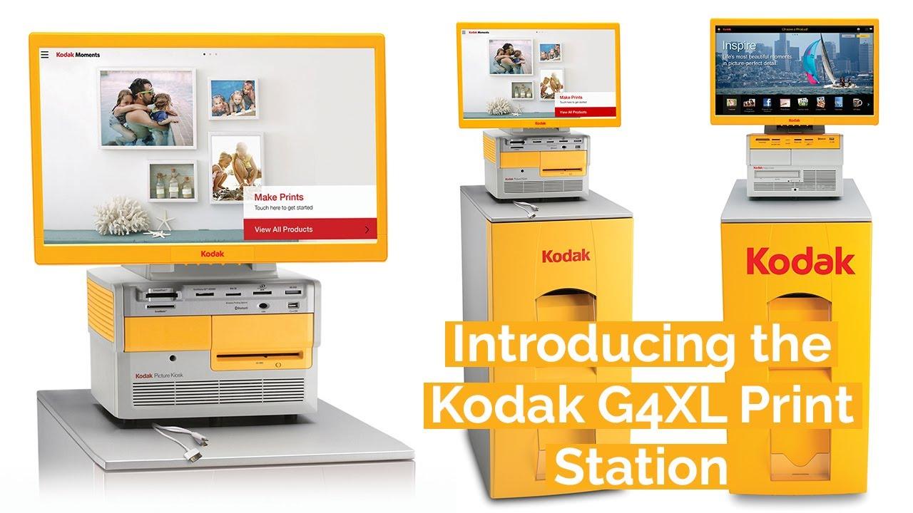 The Kodak G4XL Kiosk