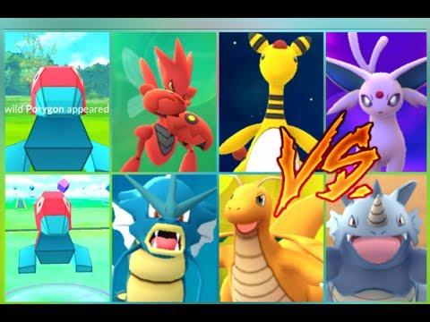 Pokémon GO Porygon Catches Rare Hatches Powering up & Gym Battles!