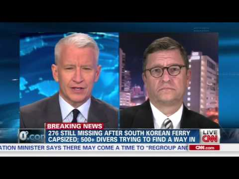 Kim E. Petersen on CNN AC360 Discussing the Sewol Ferry Sinking: 18Apr14