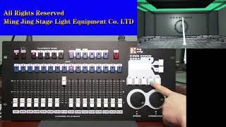 kk-256 dmx kontrol ... ... takibi Yapmak için Nasıl