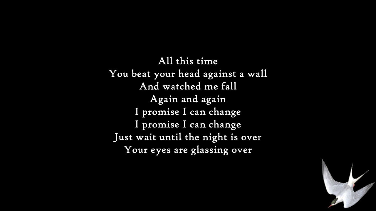 ALL GOOD THINGS - FOR THE GLORY LYRICS