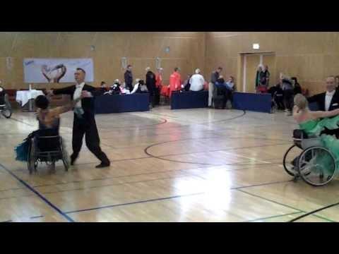 Wheelchair dance: Russia and Ukraine united