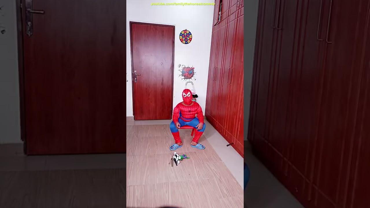 Voodoo Master HULK vs. English German Spidey Prank funny tiktok 2021  #shorts #spiderman #hulk