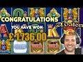 £1700 Avalon Bonus With Just £12 left! Plus More Slot Bonuses ( compilation video )