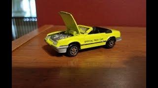90s Majorette Mustang Junker Car Custom + Circuit Legends mini review