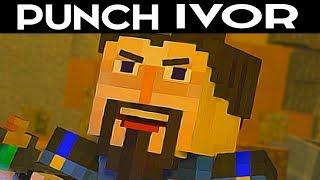 PUNCH IVOR Vs LET HIM FINISH Alternative Choices - Minecraft: Story Mode Season 2 Episode 4