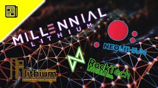 Lithium Aktien (Millennial, Neo, Rock Tech und Standard Lithium). Diese Aktien als Aktionär kaufen?