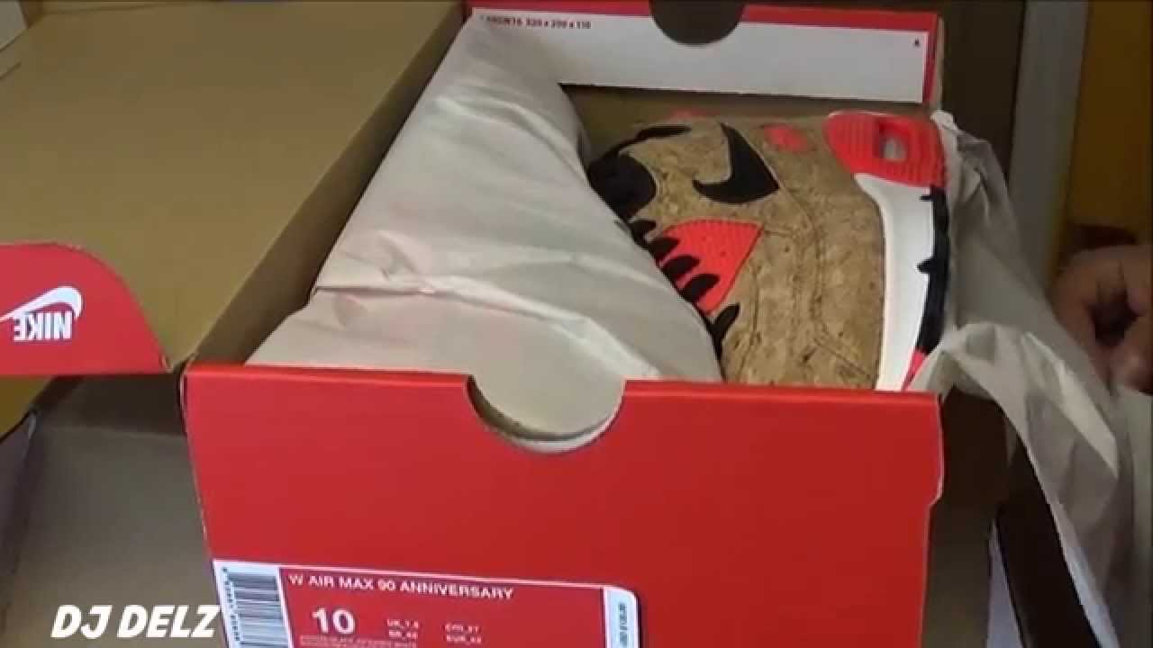 Nike Air Max 90 Cork Anniversary Pack Infrared