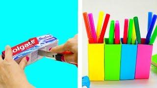 5 MUST KNOW COLGATE BOX DIYS AND CRAFT IDEAS