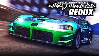 Need for Speed MOST WANTED REDUX | Blacklist #4: JV