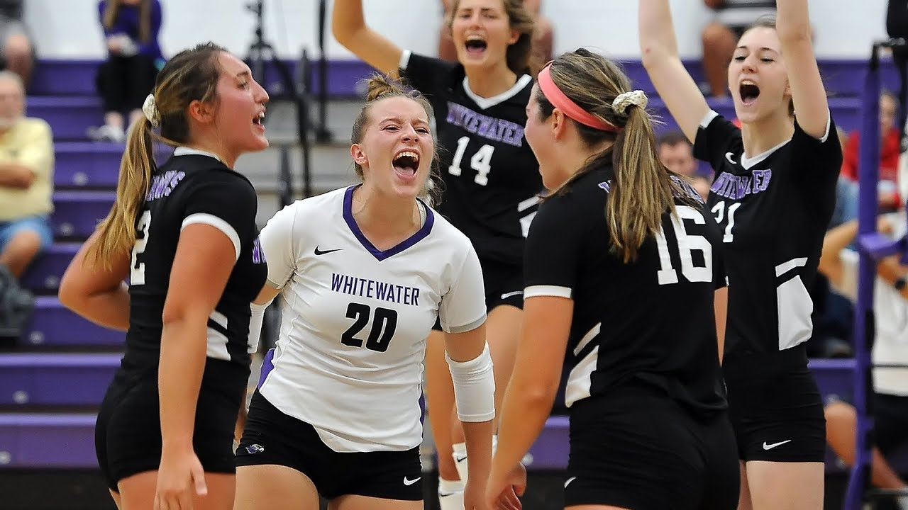 Uw Whitewater Volleyball September 18 2019 Youtube