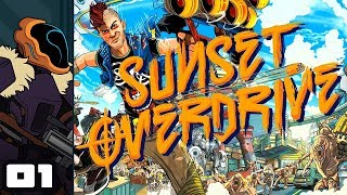 Let's Play Sunset Overdrive - PC Gameplay Part 1 - I Just Wanna Go Home!