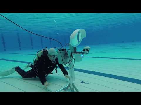 Divecomm : Footage Of The Underwater Wireless Communication System Settings.
