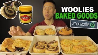 [MUKBANG] WOOLWORTHS BAKED GOODS-SWEET AND SAVOURY
