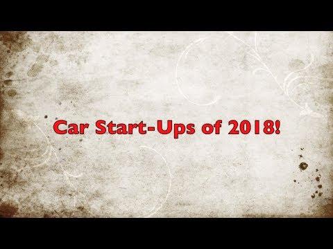 Car Start-Ups Of 2018