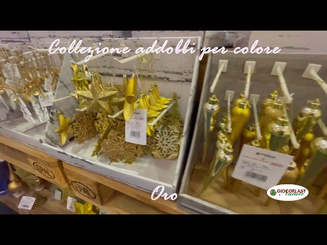 collezione Natale per colore - Oro