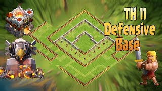 Th11 Legend Trophy Base | Anti 2 star base Anti Queen Walk Bowler Witch Anti Queen Walk Miner