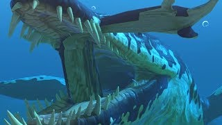 NEW KRONOSAURUS STRETCHES PROGNATHADON GLITCH - Feed and Grow Fish - Part 106 | Pungence