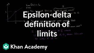 Epsilon-delta definition of limits