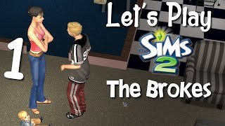Let's Play The Sims 2 - The Broke Family #1 - What? How?